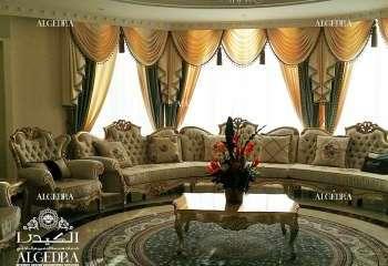 Classic Villa Decoration in Al Ain