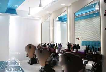 Gents Salon Design in Dubai Marina