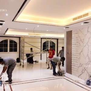 Modern Villa decoration in Dubai (On Going)