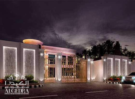 Beautiful palace exterior exterior residential design Residential design