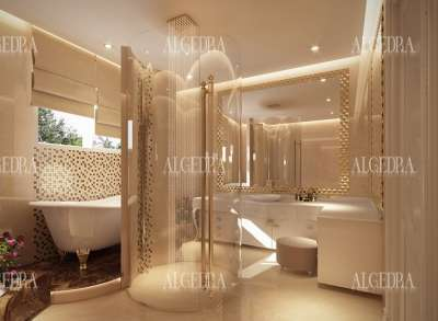 Villa Bathroom Design for Villa