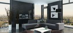 home decoration in black