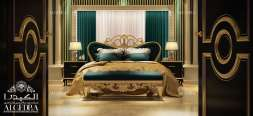 Royal Style Bedroom Design