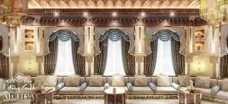 النمط العربي في التصميم الداخلي من الكيدرا