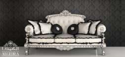 Black and White Furnishing