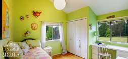 Cool Green Children Bedroom