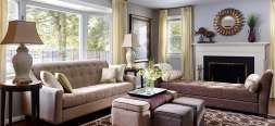 Transitional interior design