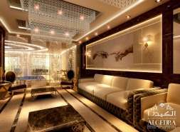 luxury hall design