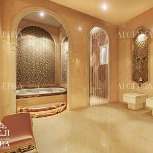 Bathroom Design for Villa