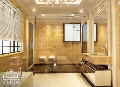 Luxury Gold Bathroom Design Ideas