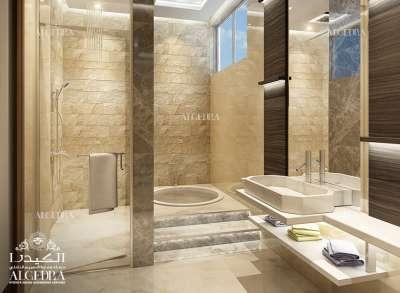 Big & Luxury Bathroom for Villa