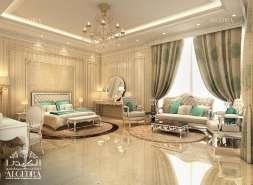 Master Bedoom Design for Villa
