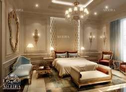 bedroom Interior Design for Villa