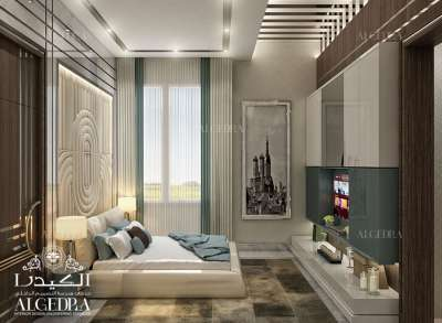 Luxury Bedroom Design Abu Dhabi