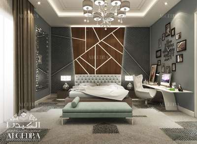 Luxury bedroom decoration