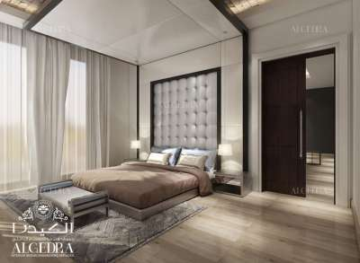 luxury bedroom interior design in Dubai