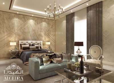 luxury décor for bedroom in Dubai