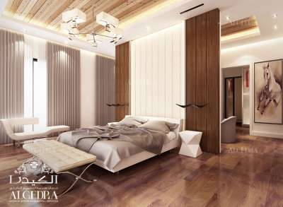 bedroom luxury décor in Dubai