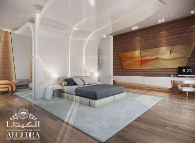 luxury bedroom design in Dubai