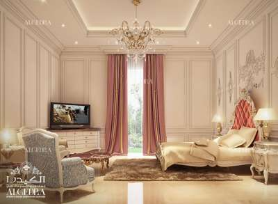 Interior Bedroom Design for Villa