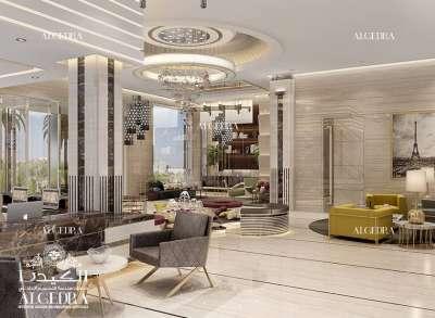 Hotel Guest Area Design