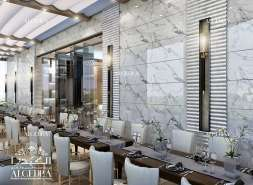 Classic Interior Design for Restaurant