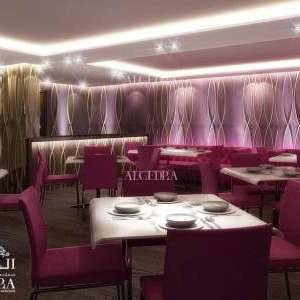 Dining Interior Design for Hotel