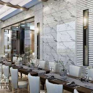 Classic Interior Design for Restaurant