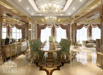 Dining Room Decoration for Villa