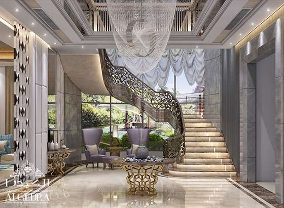 Lobby Entrance Design For Villas Houses Palaces