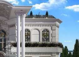 Beautiful palace exterior design