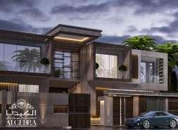 Lavishing exterior Design by Algedra