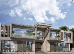 Luxurious Villa exterior