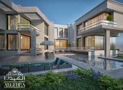 Algedra villa exterior design