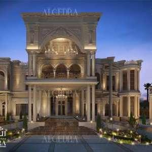 Exterior palace design