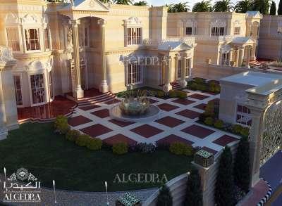 beautiful Villa landscape design