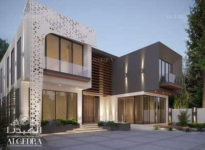 Modern architecture design house uae