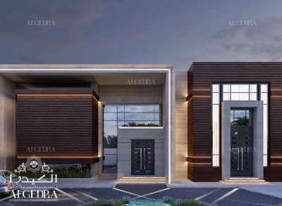 Modern architecture villa