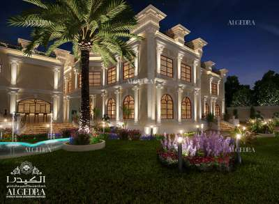 Exterior Night view for Palace
