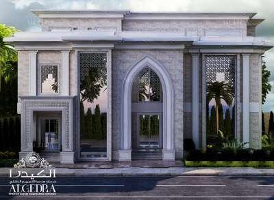 villa exterior entrance design
