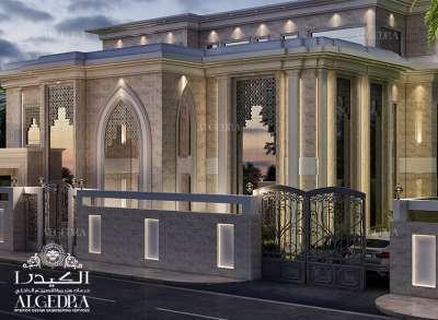 Villa exterior designs