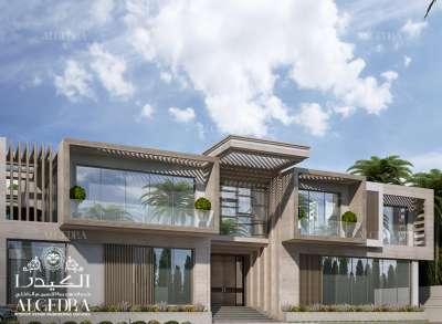 Modern Luxurious Villa Exterior