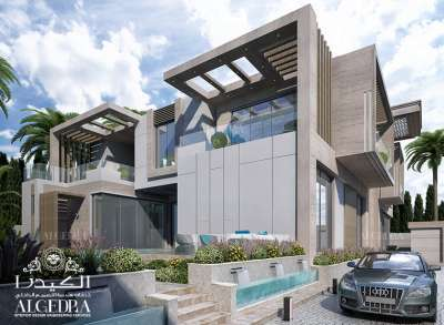 New Luxurious Villa Exterior