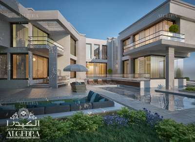huge villa architect Design