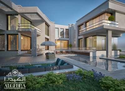 huge villa architect Design