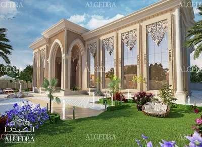Landscape design for Villa