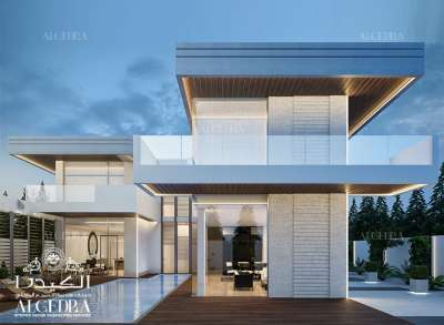 Modern Villa Exterior Designs in Dubai