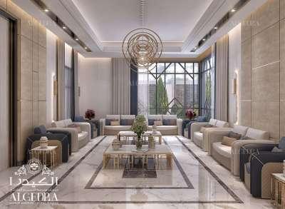 تصاميم غرف الجلوس العائلية في الإمارات
