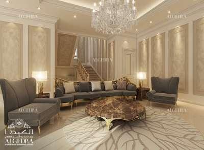 غرفة عائلية جميلة تصميم شركة الكيدرا