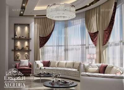 تصميم غرف جلوس عائلية
